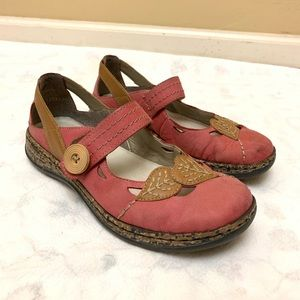 Rieker Antistress Mary Jane Loafers